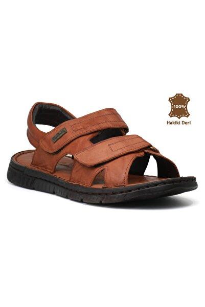 Pierre Cardin 2625 Sandalet Hakiki Deri Erkek Sandalet