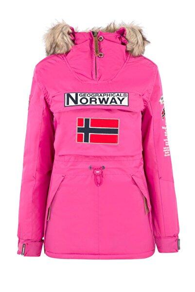 Norway Geographical Kadın Fuşya Uzun Kollu Mont