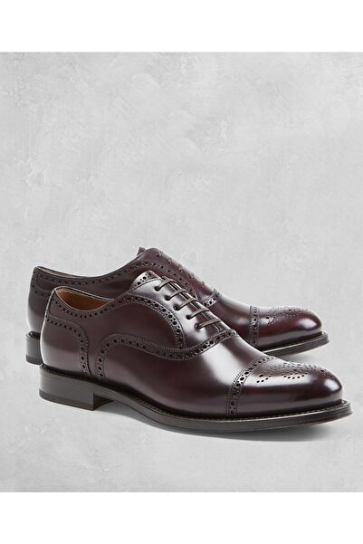 BROOKS BROTHERS Erkek Bordo Golden Fleece Ayakkabı