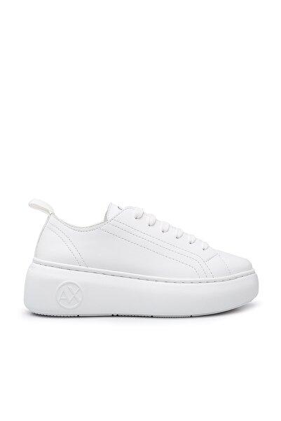 Armani Exchange Kadın Beyaz Ayakkabı