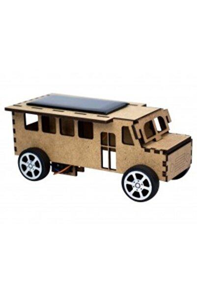mika house Güneş Enerjili Ahşap Otobüs