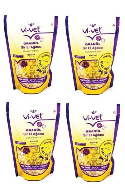 Vi-vet Soyulabilir Naturel Granül Boncuk Ağda 4 Adet 8697422251716