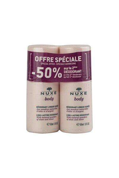 Nuxe Body Deodorant 2x50 Ml Ikili Set