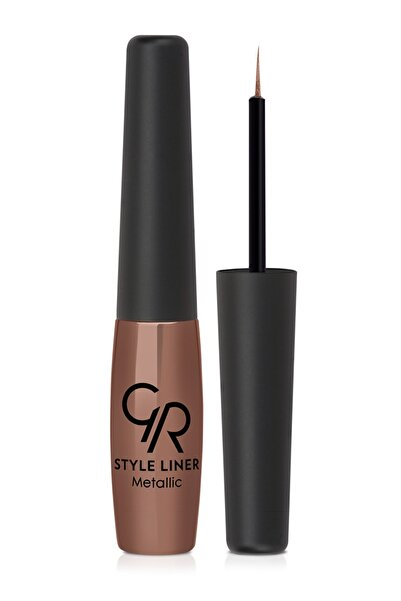 Golden Rose Metalik Bronz Eyeliner - Style Liner Metallic Eyeliner No: 06 8691190170066