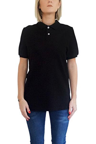Kadın Siyah T-Shirt POLO-F-S