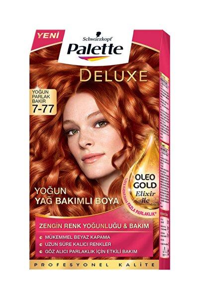 Palette Yoğun Bakır Saç Boyası - Deluxe 7-77  4015000975704