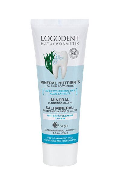 Logona Mineralli Organik Diş Macunu - Deniz Tuzu Ve Deniz Yosunu Özlü - 75 ml