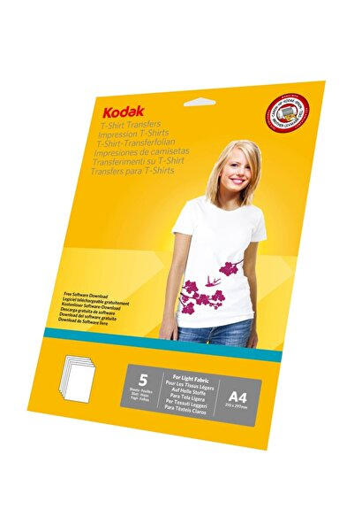 Kodak A4 Açık Renk T-Shirtler için Transfer Baskı Kağıdı