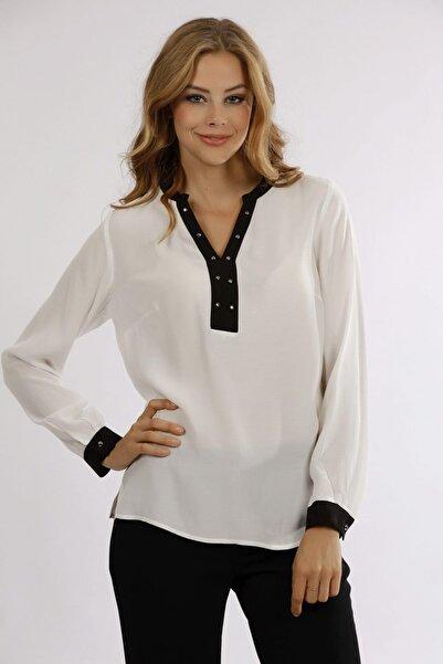 Naramaxx Kadın Beyaz Bluz 16K11118Y667