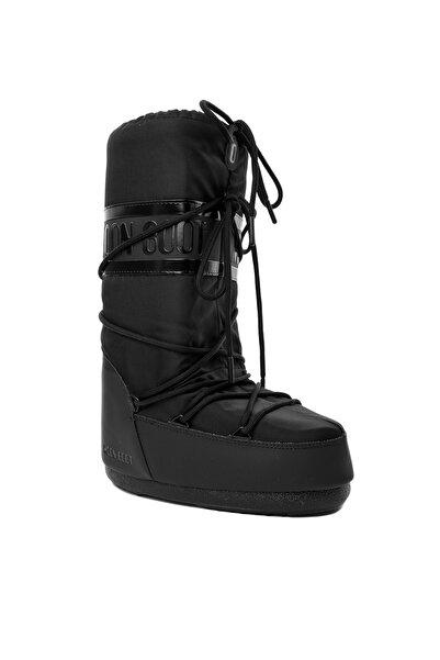 MOON BOOT Siyah Kadın Kız Kar Botu 14023300-001 Classıc Plus Black