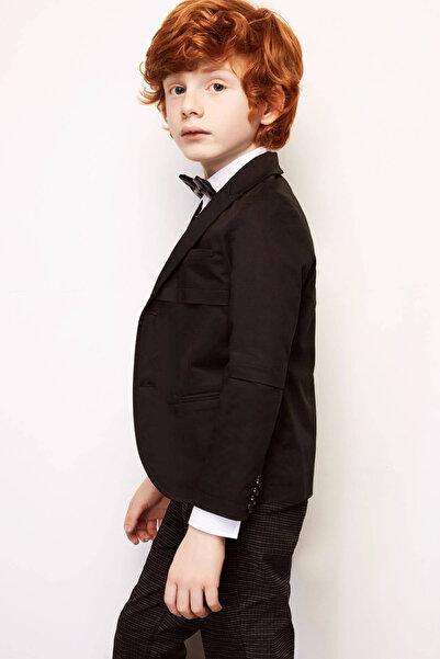 Firstline Erkek Çocuk Siyah Ceket