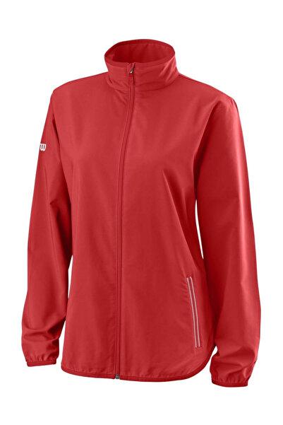 Wilson Kadın Ceket W Team Woven Kırmızı/Wh ( WRA766404 )