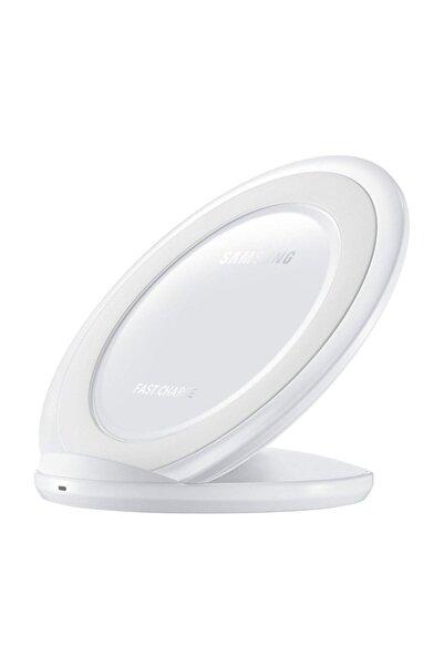 Samsung Kablosuz Hızlı Şarj Aleti Standlı BEYAZ