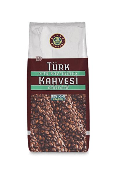 Kahve Dünyası Orta Kavrulmuş Türk Kahvesi Çekirdek 1 kg