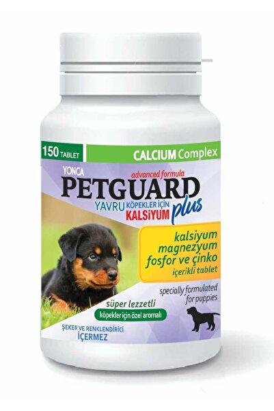 Pet Pretty Petguard Plus Yavru Köpek Kalsiyum Magnezyum 150 Tablet