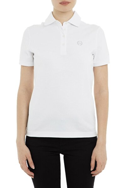 Armani Exchange Beyaz Kadın T-Shirt 8NYF72 Y8B9Z 1000