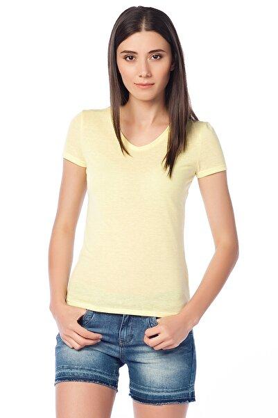 Lee Cooper Kadın Miss V Yaka T-Shirt 152 LCF 242013