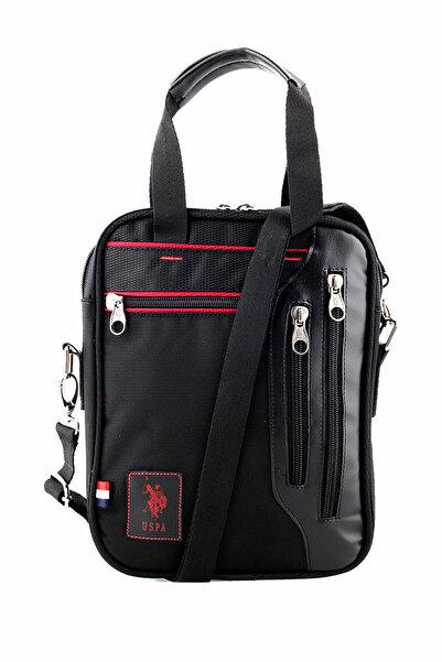 U.S. Polo Assn. Siyah Unisex Evrak Çantası PLEVR8412