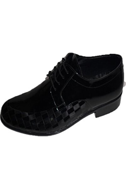 NK Zeki Satıl Anı Kareli Bağlı Siyah Ayakkabı 40