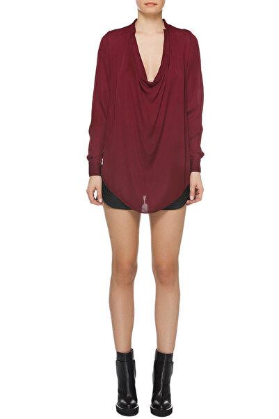 Haute Hippie Kadın Bordo Bluz