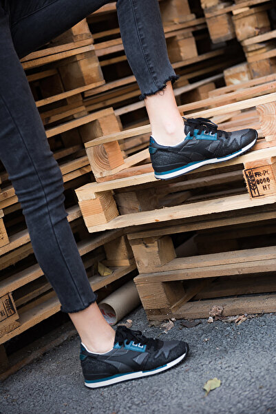 Diadora Exodus W Glitter Kadın Siyah Günlük Spor Ayakkabı - 16185480013