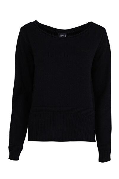 Armani Jeans Kadın Siyah Kazak