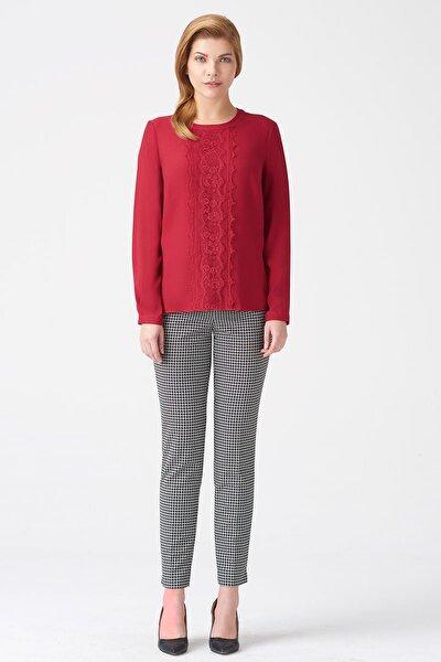 Naramaxx Kadın Koyu Kırmızı Bluz 17K11118Y948