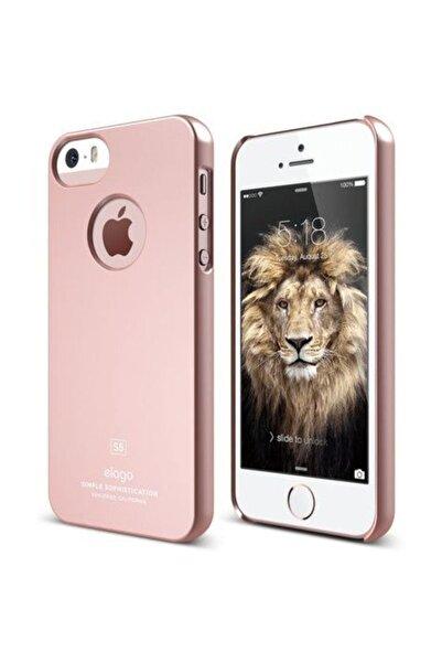Elago iPhone 5 5S SE Slim Fit Rose Gold Kılıf