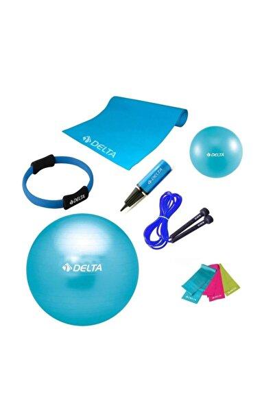 Delta 65 cm Ultimate New Collection Turkuaz Pilates Seti - UNC