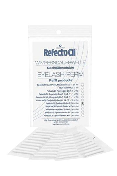 Refectocil Eyelash Roller Small Kirpik Perma Rulosu 36 adet 9003877550358