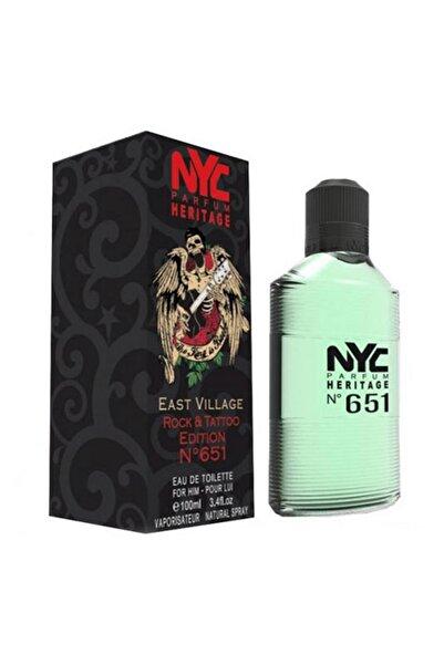NYC East Village Rock & Tattoo Edition No: 651 Edt 100 ml Erkek Parfüm 875990006512