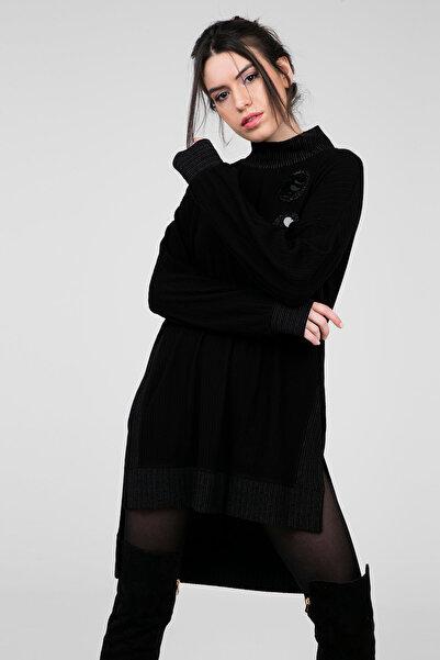 SEÇİL Kadın Siyah Tunik 1034582
