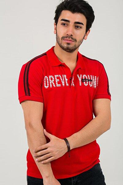 Oksit Louis 19LY153 Slim Fit Likrali Erkek Polo Yaka Tshirt