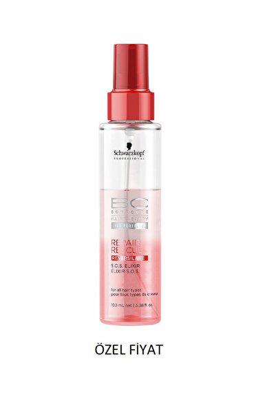 Bonacure Tüm Saç Tipleri için Onarıcı Saç Bakım Serumu - Repair Rescue Sos Elixir 100 ml 4045787327885
