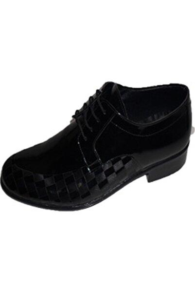 NK Zeki Satıl Anı Kareli Bağlı Siyah Ayakkabı 43