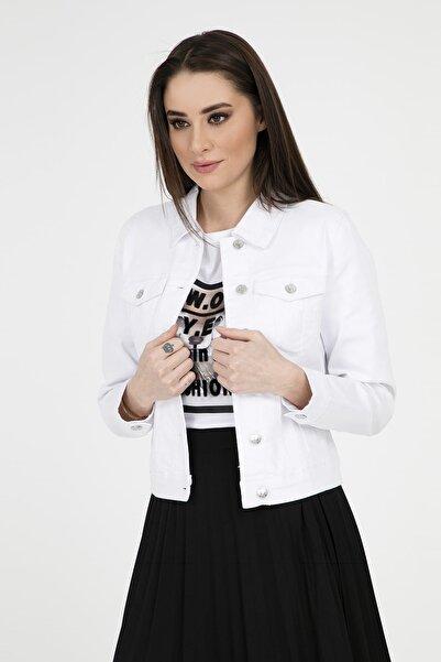 Vero Moda Kadın Beyaz Ceket 0193085