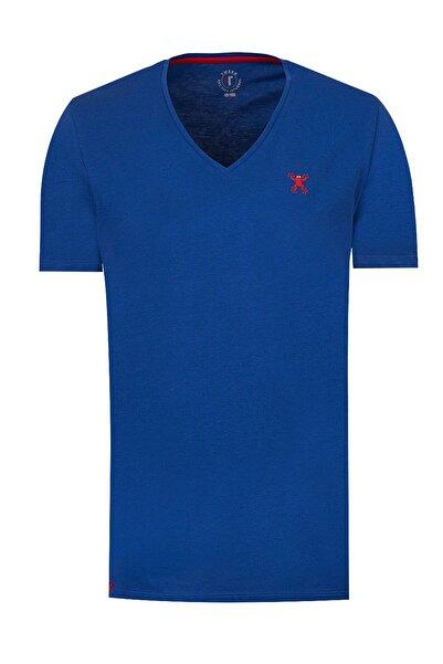 Tween Saks Mavi T-Shırt - 0TC143100128-750