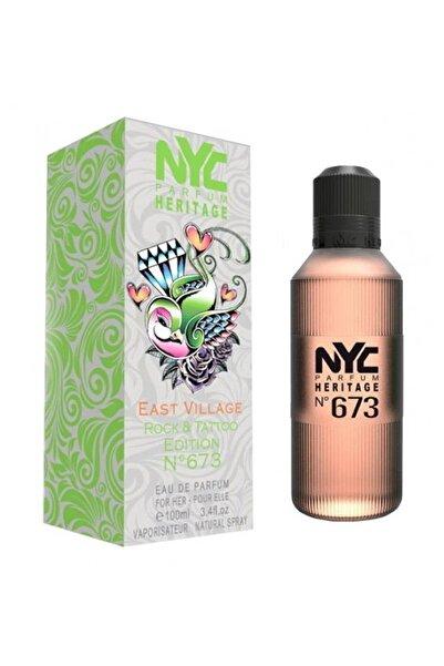NYC East Village Rock & Tattoo Edition No: 673 Edp 100 ml Kadın Parfüm 875990006734