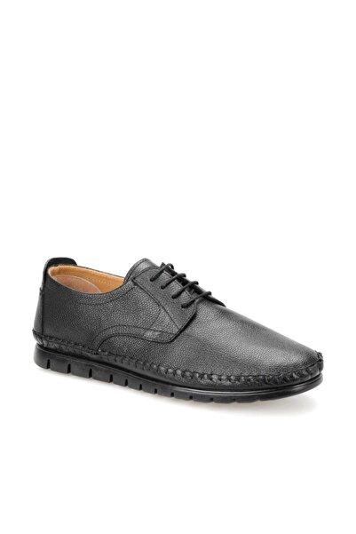 Flogart G-206 Siyah Erkek Deri Ayakkabı 100381456