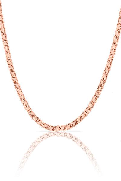Azuris Silver Kadın 925 Ayar Gümüş Arpa Zincir 45 Cm ALK1611