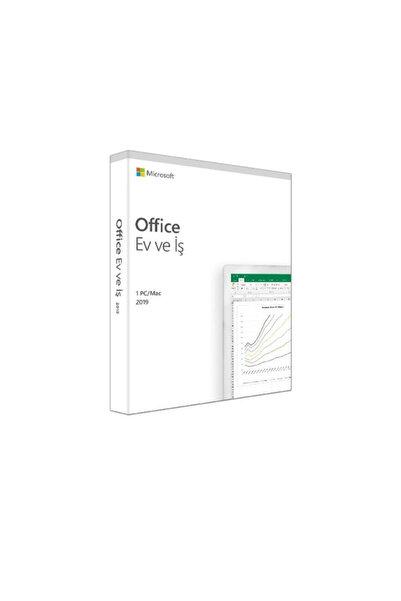 MICROSOFT Micosoft Office EV ve İş 2019 Türkçe 1 Kullanıcı 1 Yıl Kutulu T5D-03258