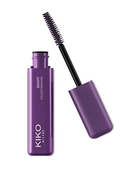 KIKO Panoramik Hacim Efektli Maskara - Smart Colour Mascara 01 Metallic Purple 8025272627276