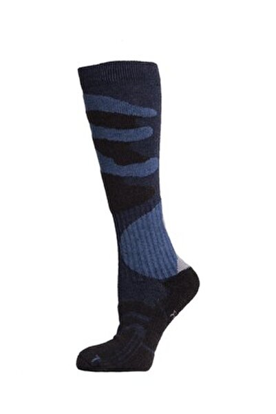 Ski Erkek Kayak Çorabı Antrasit/Siyah Siyah/Gri