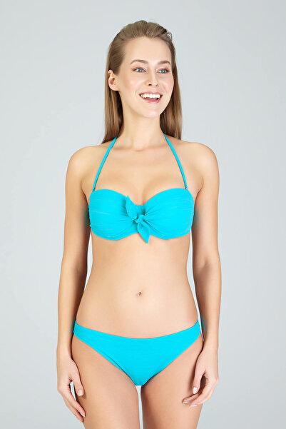 Kom Kadın Turkuaz Aqua Bikini Takimi 01Mb41021Turk 01MB41021TURK