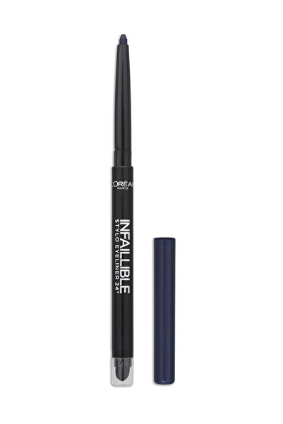 L'Oreal Paris Lacivert Eyeliner - Infallible Stylo Eyeliner 24H 316 Wild Blue 3600523163458