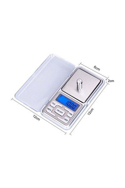 Gomax Dijital Hassas Mini Cep Terazisi Tartısı 500gr/0,1gr