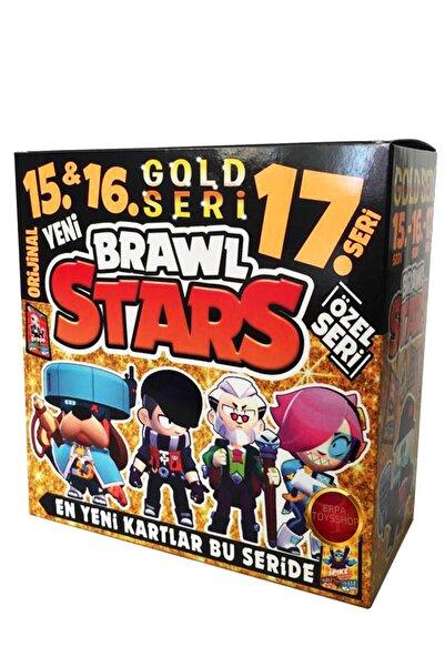 BRAWL STARS 15. 16. Ve 17. Seri Gold Seri En Yeni Ve En Özel Kartlar Gold Seride (100) Adet