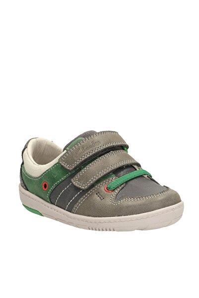 CLARKS Hakiki Deri Çocuk Ayakkabı 261059427