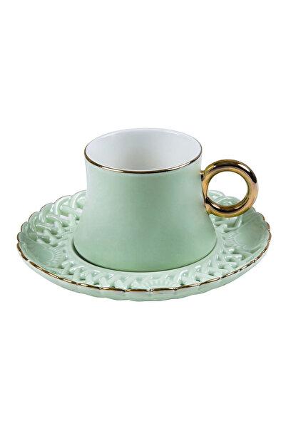 Pierre Cardin Spring Green Kahve Fincan Seti