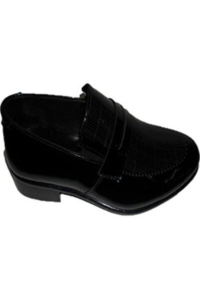 NK Zeki Satıl Yüzü Çizgili Siyah Ayakkabı 41